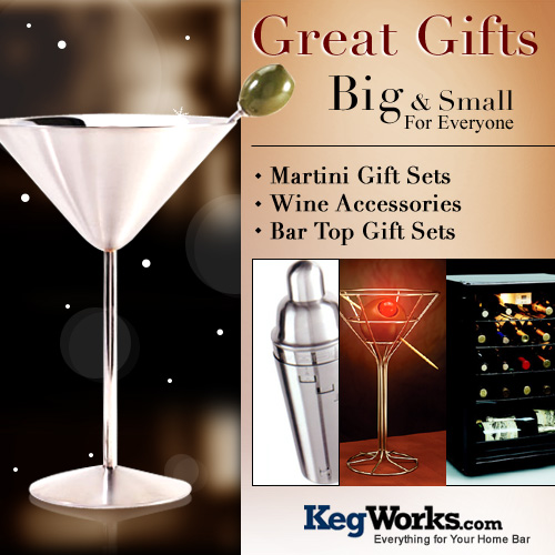 Christmas Gifts from Kegworks